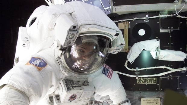 NASA announced it is looking for a new slate of astronauts and will start taking applications next month. They say successful candidates could end up in space, like astronaut Robert L. Curbeam, pictured here during a spacewalk in 2001.