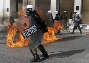 Greece Bailout Strike