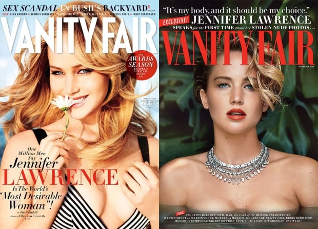 Vanity Fair logo change