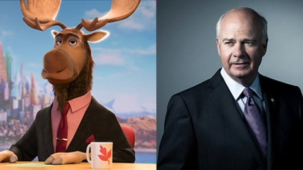 CBC's Peter Mansbridge makes a cameo in the upcoming Disney animated film Zootopia as ZTV newscaster Peter Moosebridge.