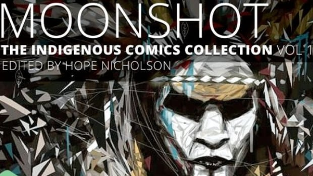 Moonshot: The Indigenous Comics Collection features stories and art from 28 contributors.