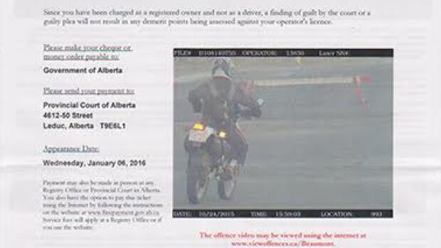 Missing plate lands Leduc motorcyclist in hot water again