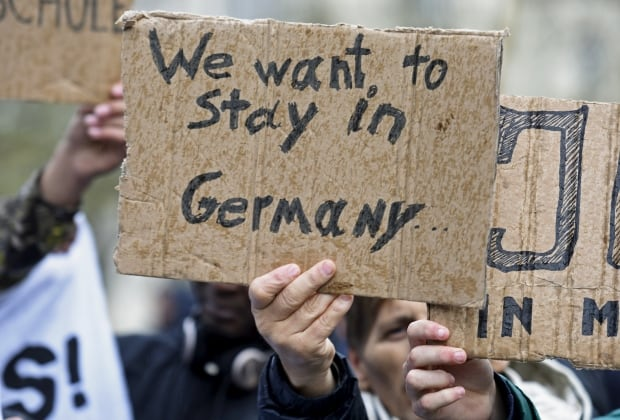EUROPE-MIGRANTS/GERMANY