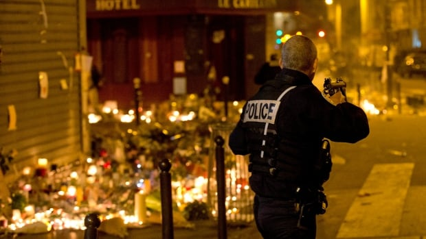 Friday's co-ordinated attacks in the Paris area left at least 129 people dead and hundreds more injured. The RCMP is following up on media reports that the voice in an audio recording claiming responsibility for the attacks may be Canadian.