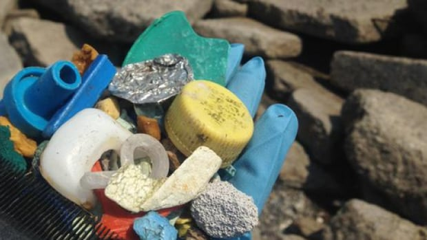 Matt Roy said he decided to try a plastic-free month at his home, after hearing about microbeads and the one time use plastic materials can cAuse damage to aquatic life.