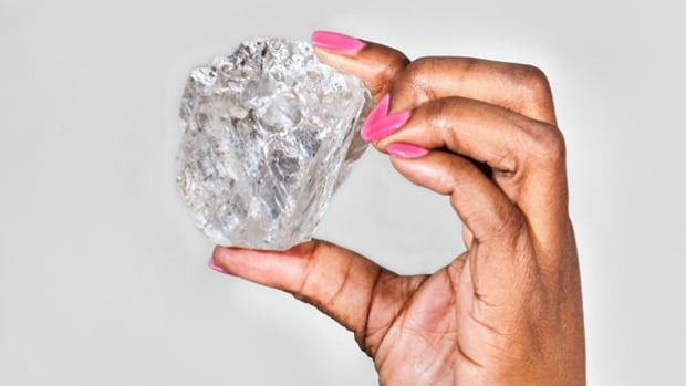 Lucara says it has found the second largest diamond ever discovered at its mine in Botswana.