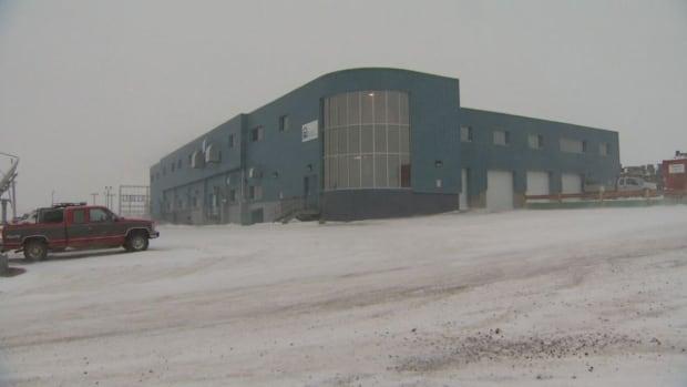 The Qulliq Energy Corporation power plant in Iqaluit.