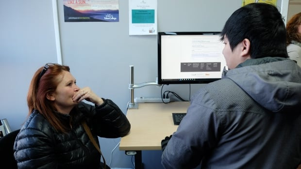 'The Hub' at 203, 204 Black St. in Whitehorse, will offer clients access to computers as well as employment counseling.