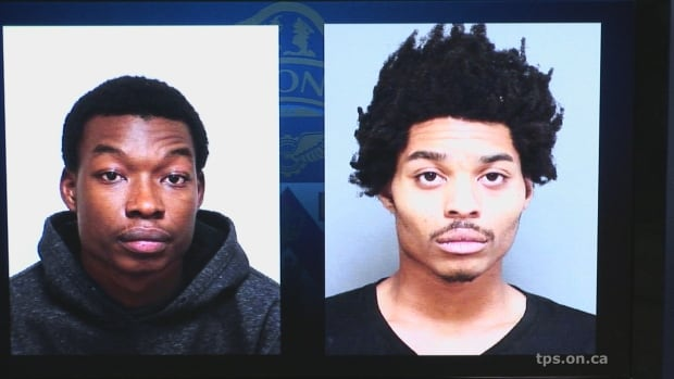 Kahmal Howard Paris, 22, and Alico Allen, 19,  are accused of forcing a 13-year-old girl to perform sexual acts for a month.