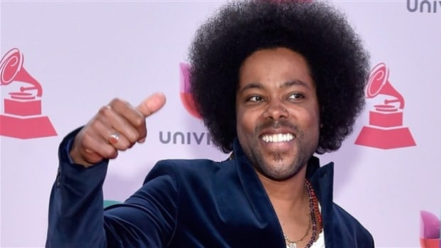 Alex Cuba, pictured here at the 2015 Latin Grammy Awards in November, won in the best singer-songwriter category for his album Healer. In 2016, he is up for a Grammy and a Juno as well.