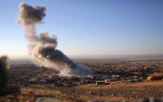 Iraq Islamic State Freeing Sinjar airstrikes Nov 12 2015