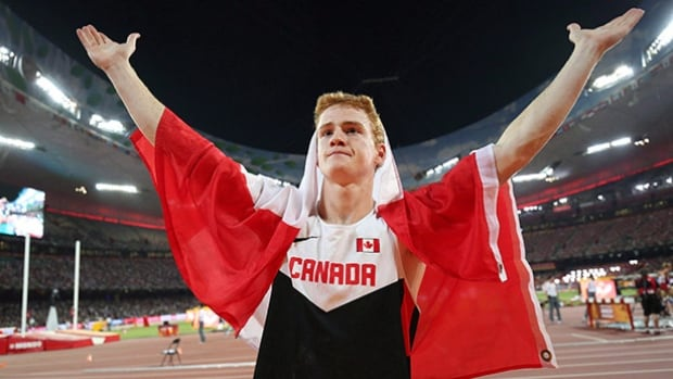 Reigning pole vault world champion Shawn Barber is one of only 19 men to clear six metres.