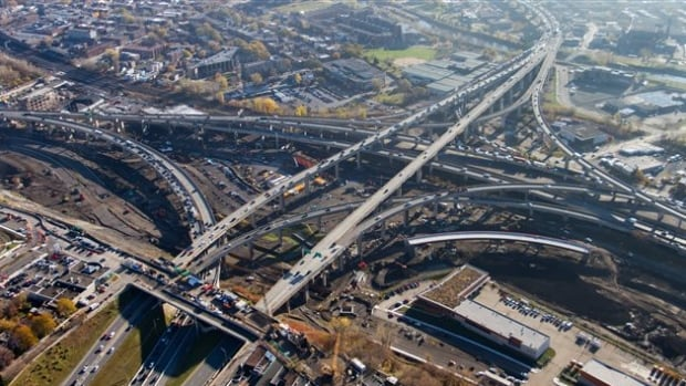 The new Turcot is scheduled to be complete by 2020.