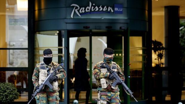 Brussels on highest alert