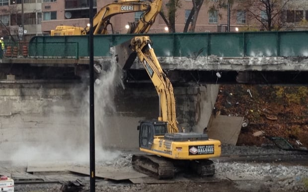 Gardiner bridge demolition