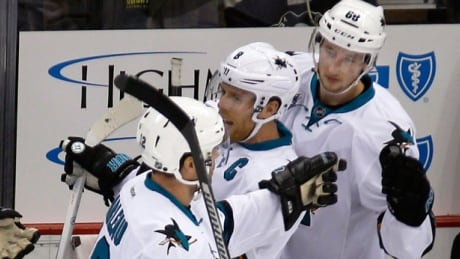 Patrick Marleau Earns 1,000th NHL Point In Sharks' Win Over Penguins