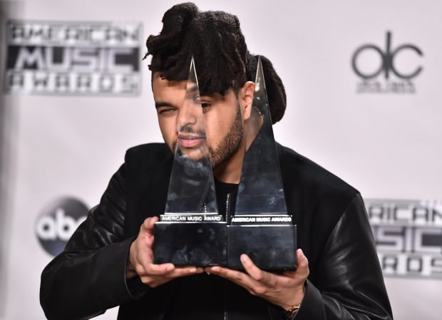 AMAs-Weeknd