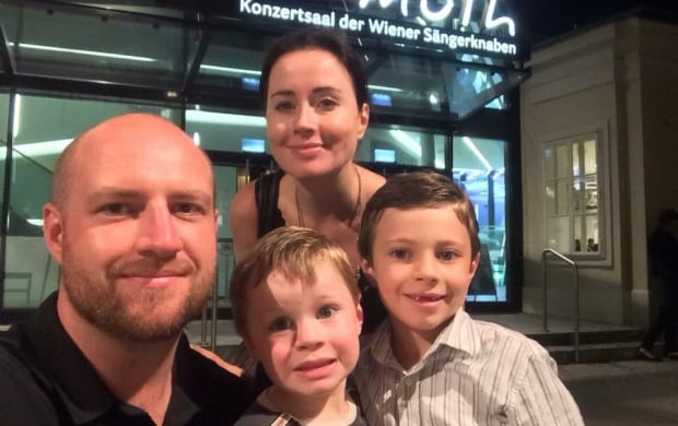 Erin MacLean-Berko and her family