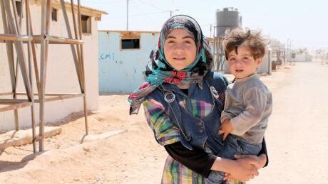Toronto UNICEF Za'atari refugee camp