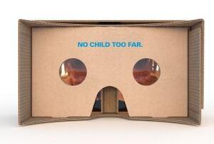 Toronto UNICEF virtual reality viewer