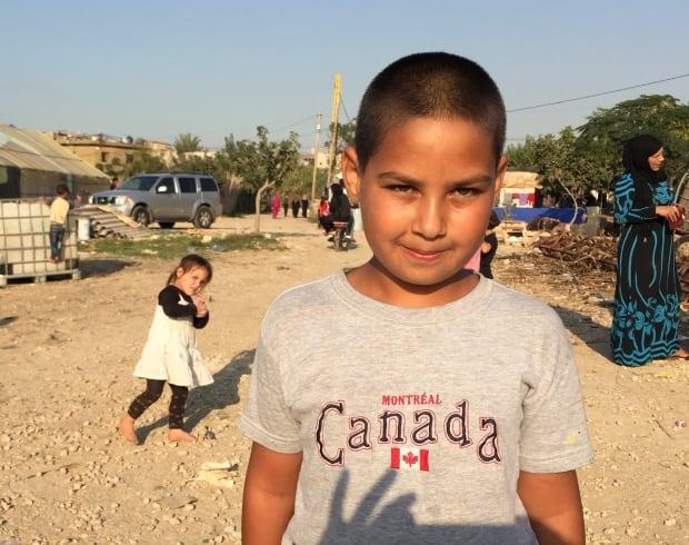 Bashar, 12 year old Syrian refugee