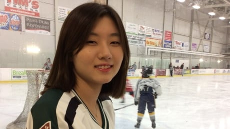 Ye Eun Park UPEI women's hockey