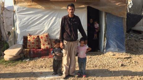 Syrian family lebanese camp