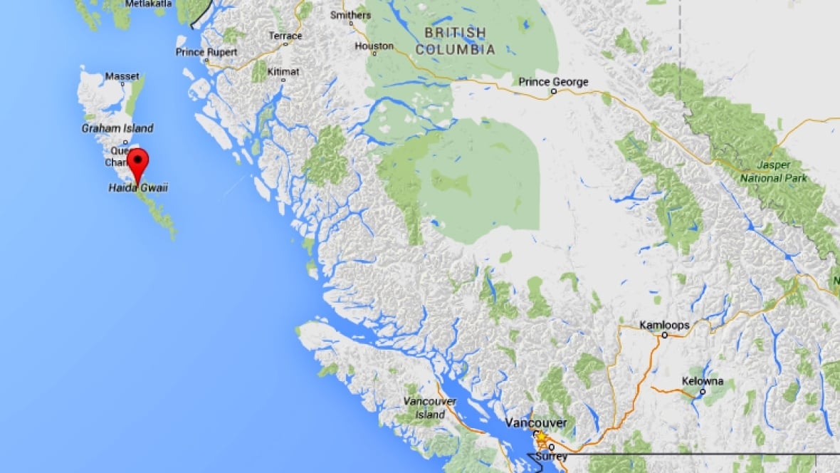 Cargo Ship Broken Down And Drifting Near Haida Gwaii