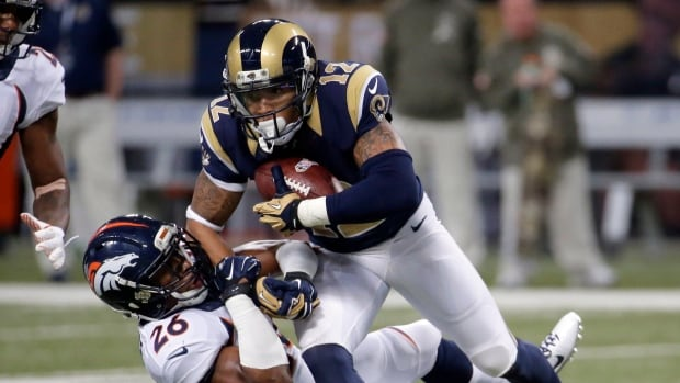 nfl Los Angeles Rams Stedman Bailey GAME Jerseys