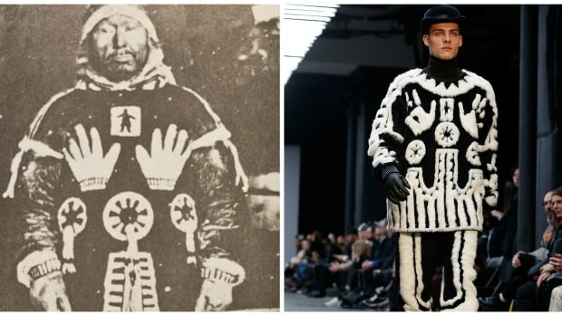 U.K. design label, KTZ, 'copied' the design from an Inuit shaman's parka considered by experts as the 'most unique garment known to have been created in the Canadian Arctic.'