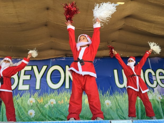 Syrian refugee Christmas pageant