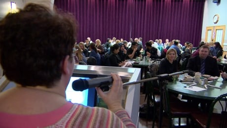 Chanda Lockhart speaks to Saskatoon landlords