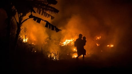 Indonesia forest fires weather disaster Oct 2 2015