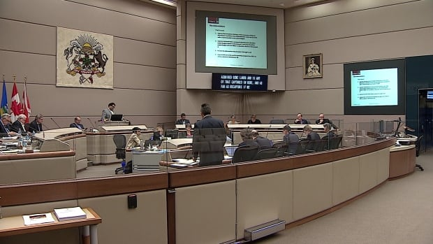 Calgary city council meeting Nov. 25