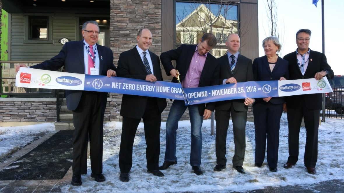 Calgary 39 S Newest Net Zero Home Produces As Much Energy As