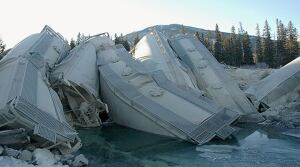 Banff Boxing Day Derailment CP Rail