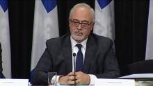 Finance Minister Carlos Leitao