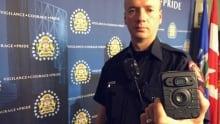 Calgary police body cam