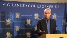 Calgary police Staff Sgt. Colin Chisholm