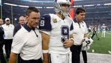 Tony Romo out for season after reinjuring collarbone
