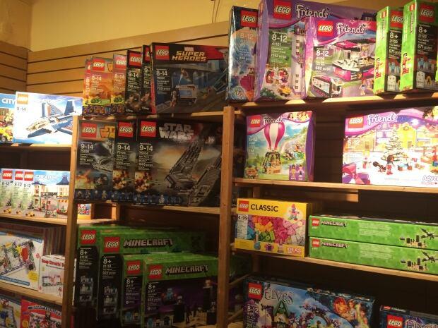 Lego at Treasure Island Toys