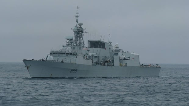 Military police are investigating an allegation of voyeurism on board HMCS Montréal while it was deployed this fall.