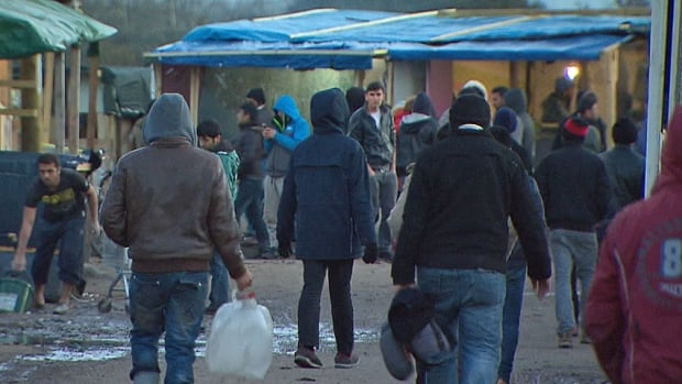 Calais-refugee camp