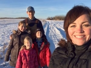 Alberta farm family eating like pioneers for a year