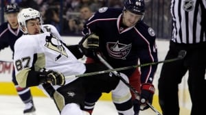 Brandon Dubinsky to have NHL hearing for Sidney Crosby cross-check