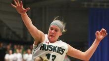 CIS Women's Basketball 20140314 Dalyce Emmerson University of Saskatchewan Huskies