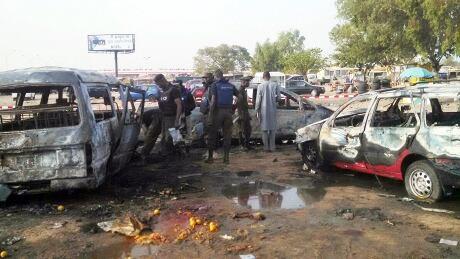Bomb blast in Kano, Nigeria
