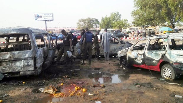 Two dozen people were killed in Kano, northern Nigeria, in February when a pair of teenaged suicide bombers suspected to be from Boko Haram set off blasts at two bus stations. Saturday's bombings in neighbouring Cameroon were perpetrated by at least one teen, and are also believed to have been the work of Boko Haram.