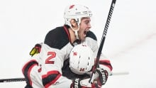 Canadiens blow late lead, fall in OT to Devils