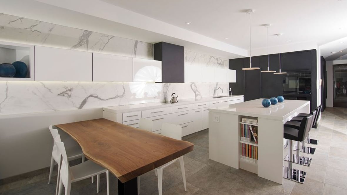 Kitchen in winnipeg home named best in the world manitoba cbc news Good kitchen design images